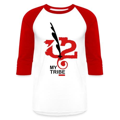 U+2=MY TRIBE - front print - s/xxl - Baseball T-Shirt