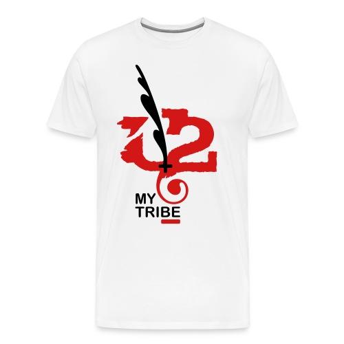 U+2=MY TRIBE - front print - s/5xl - Men's Premium T-Shirt