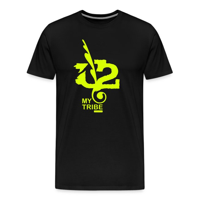 U+2=MY TRIBE - back+front neon/glow - s/5xl - multi colors