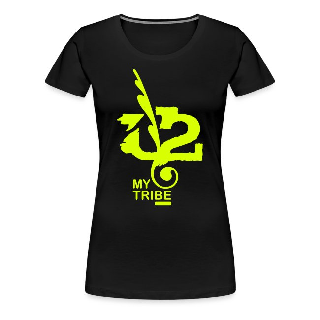 U+2=MY TRIBE - back+front neon/glow - s/3xl - multi colors