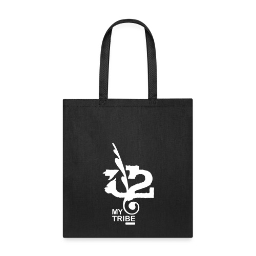 U+2=MY TRIBE - front print - one size - Tote Bag
