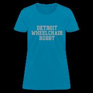 Women's T-Shirts ~ Women's T-Shirt ~ Detroit Wheelchair Rugby