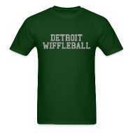 T-Shirts ~ Men's T-Shirt ~ Detroit Wiffleball