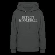 Hoodies ~ Women's Hoodie ~ Detroit Wiffleball