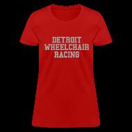 Women's T-Shirts ~ Women's T-Shirt ~ Detroit Wheelchair Racing
