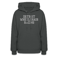 Hoodies ~ Women's Hoodie ~ Detroit Wheelchair Racing
