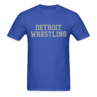 T-Shirts ~ Men's T-Shirt ~ Detroit Wrestling
