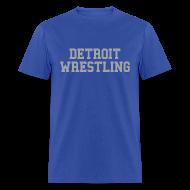 T-Shirts ~ Men's T-Shirt ~ Detroit Wrestling