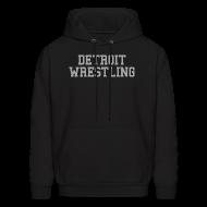 Hoodies ~ Men's Hoodie ~ Detroit Wrestling