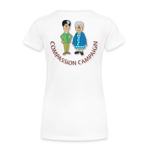 COMPASSION CAMPAIGN WOMEN'S T - Women's Premium T-Shirt