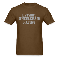 T-Shirts ~ Men's T-Shirt ~ Detroit Wheelchair Racing