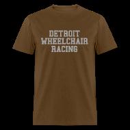 T-Shirts ~ Men's T-Shirt ~ Detroit Wheelchair Racing