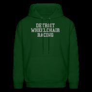 Hoodies ~ Men's Hoodie ~ Detroit Wheelchair Racing