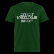 T-Shirts ~ Men's T-Shirt ~ Detroit Wheelchair Hockey