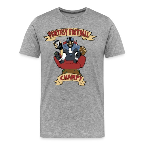 Fantasy Football Champ! - Men's Premium T-Shirt