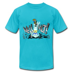 Well Met Podcast Men's - Men's T-Shirt by American Apparel
