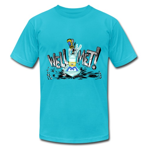 Well Met Podcast Men's - Men's  Jersey T-Shirt