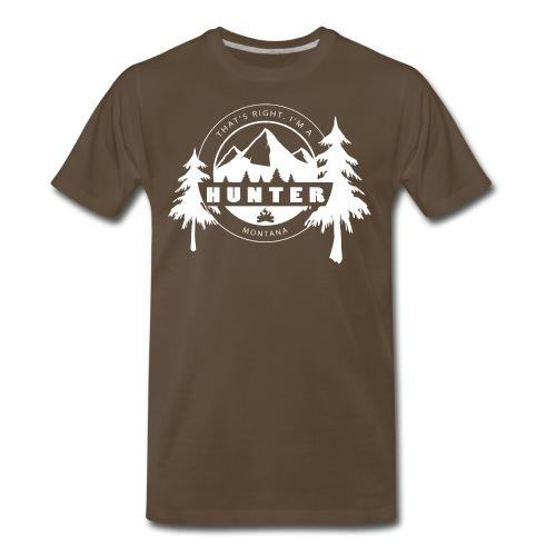 Montana Hunter - Men's - Men's Premium T-Shirt
