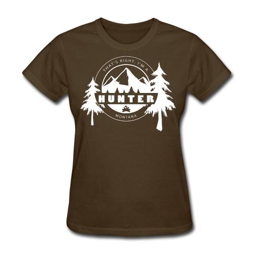 Montana Hunter - Women's - Women's T-Shirt