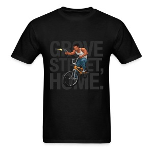 CJ - Men's T-Shirt (Black) - Men's T-Shirt