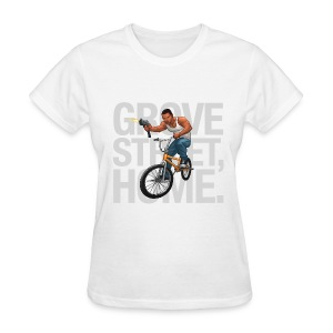 CJ - Women's T-Shirt (White) - Women's T-Shirt
