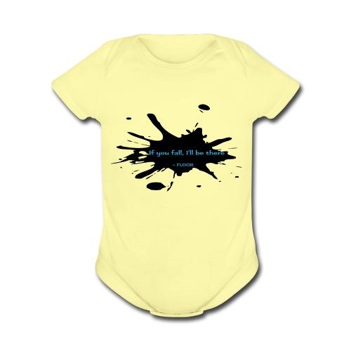Kersplat! - Organic Short Sleeve Baby Bodysuit