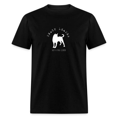 T-shirt snack leader pour hommes ( Noir )  - Men's T-Shirt