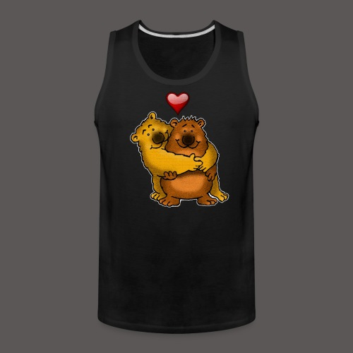 HUGGY BEARS - Men's Premium Tank