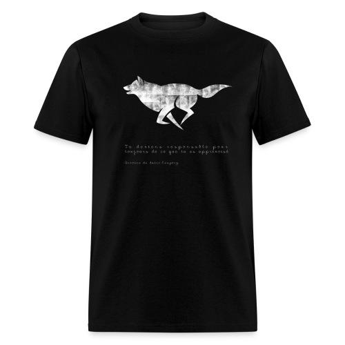 T-Shirt Petit Prince pour hommes ( Noir )  - Men's T-Shirt