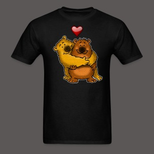 HUGGY BEARS - Men's T-Shirt