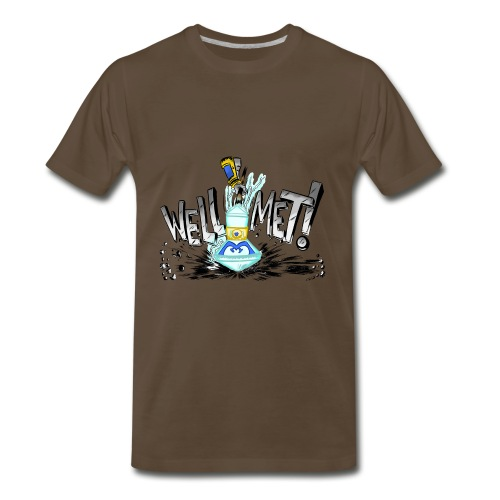 Well Met Podcast Men's Premium - Men's Premium T-Shirt
