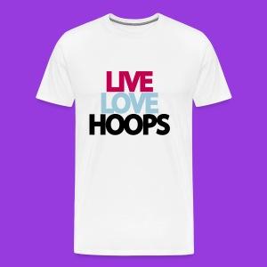 Hoops - Men's Premium T-Shirt