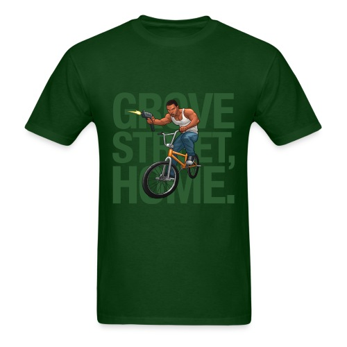 CJ - Men's T-Shirt (Green) - Men's T-Shirt