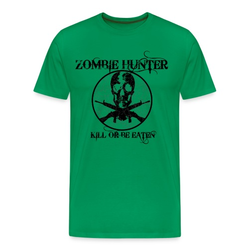 Zombie Hunter- Mens - Men's Premium T-Shirt