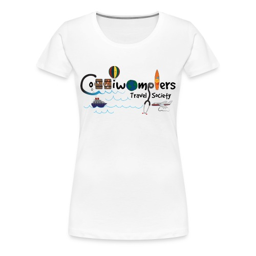 Coddiwomplers Travel Society - Women - Women's Premium T-Shirt
