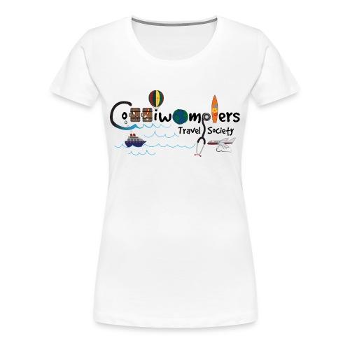 Coddiwomplers Travel Society - Women - Women's Premium T-Shirt