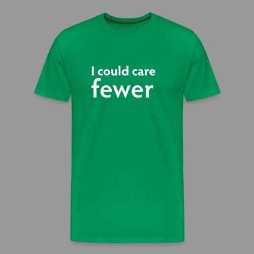 I Could Care Fewer - Men's Premium T-Shirt