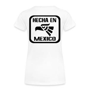 #FuckTrump white - Women's Premium T-Shirt