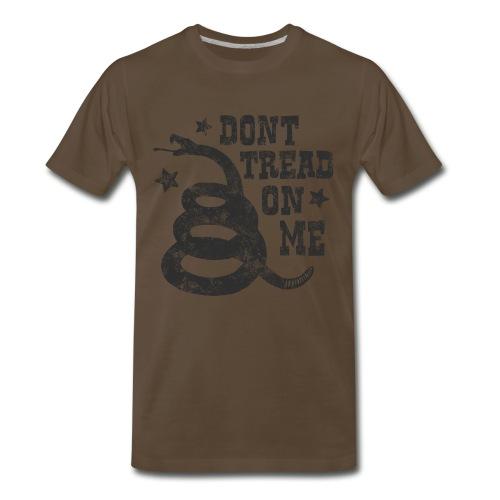 Don't Tread on Me Western Style Tee - Men's Premium T-Shirt