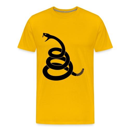 Gadsden Snake Tee - Men's Premium T-Shirt