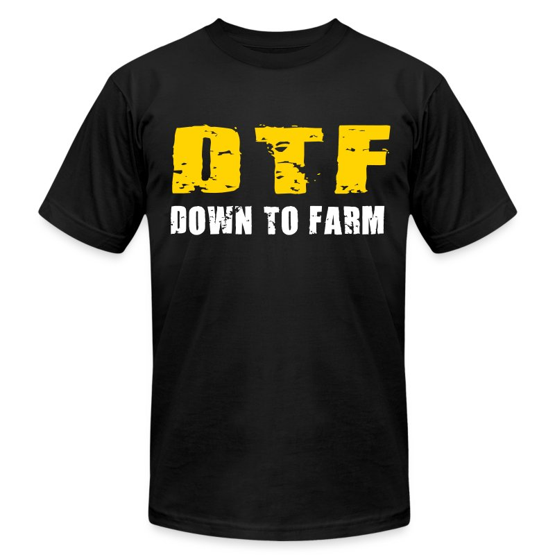 DTF : T shft - Men's T-Shirt by American Apparel