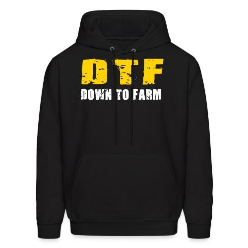 DTF - Down To Farm Hoodie - Men's Hoodie