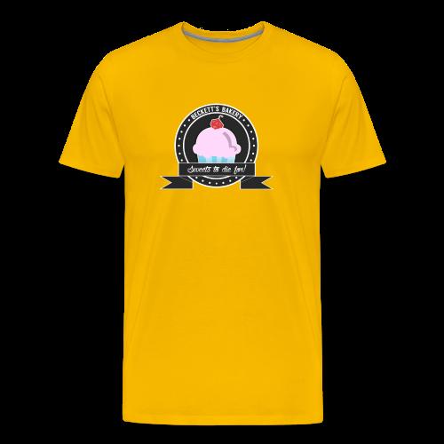 Beckett's Bakery - Men Basic Tee - Men's Premium T-Shirt