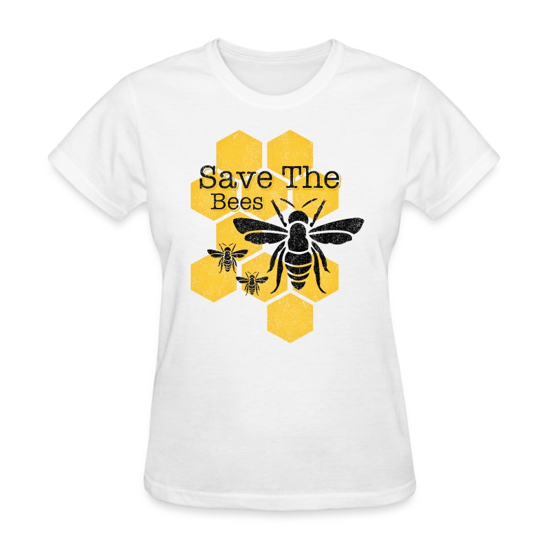 Honeycomb Save The Bees T Shirt Spreadshirt