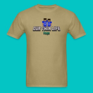 Men's Our Twin Life Minecraft - Men's T-Shirt