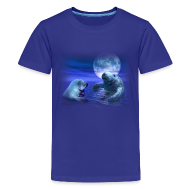 Kids' Shirts ~ Kids' Premium T-Shirt ~ Manatees & the Moon