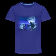 Kids' Shirts ~ Kids' Premium T-Shirt ~ Manatees & the Moon