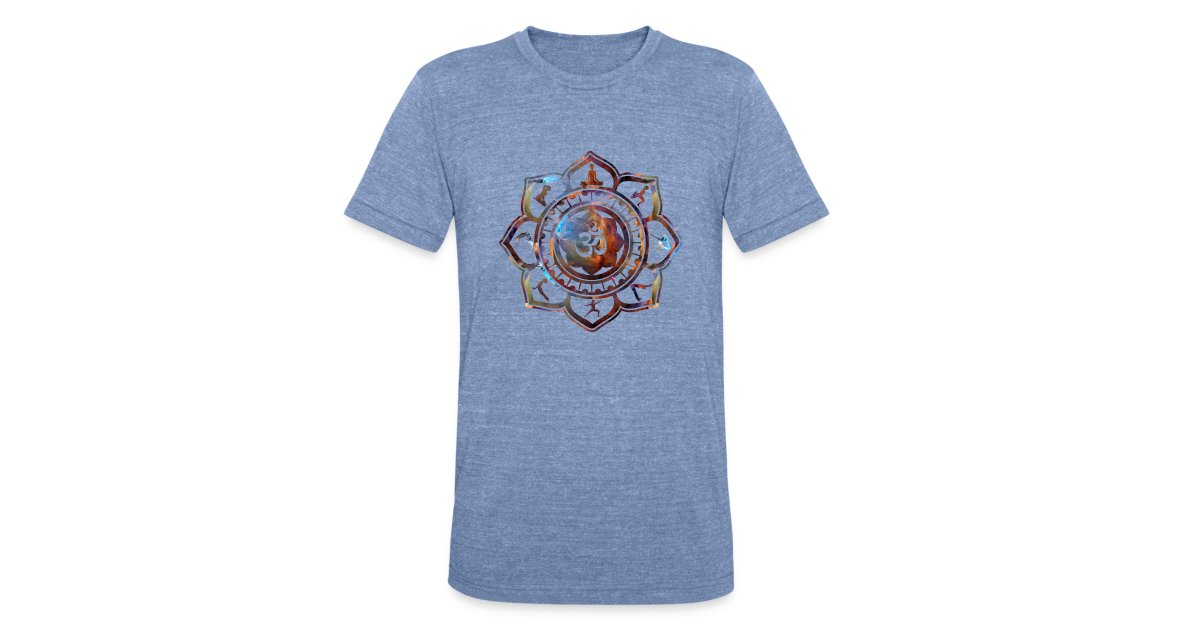 Ethos wear design and apparel om lotus flower yoga poses american ethos wear design and apparel om lotus flower yoga poses american apparel tees unisex tri blend t shirt mightylinksfo