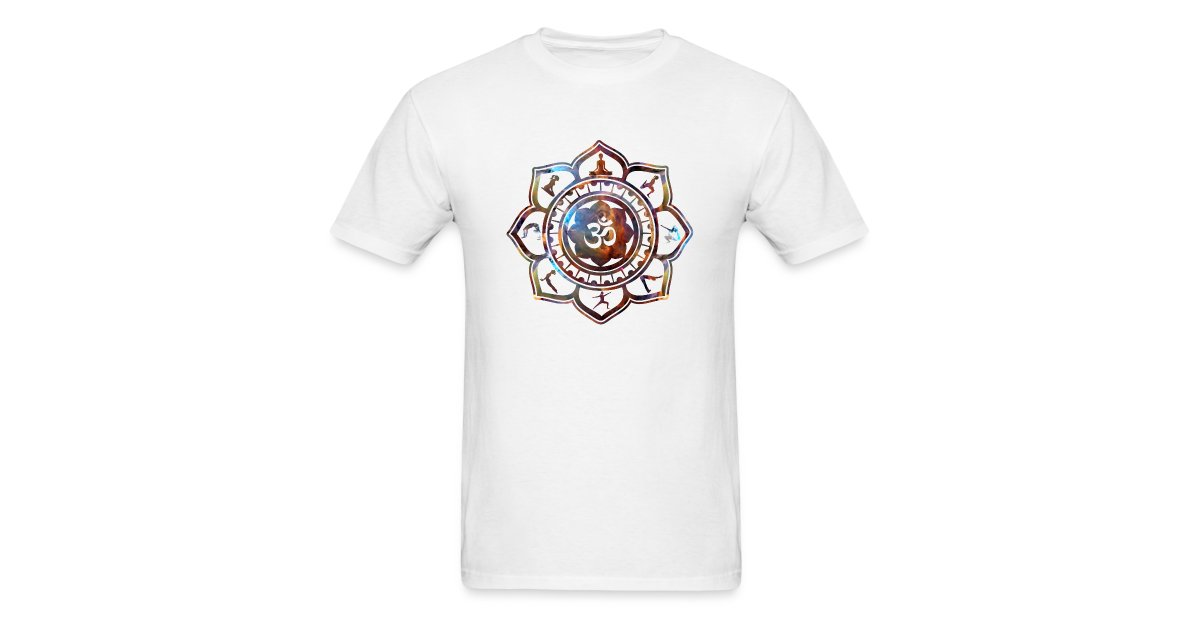 Ethos wear design and apparel om lotus flower yoga poses tshirt ethos wear design and apparel om lotus flower yoga poses tshirt mens t shirt mightylinksfo
