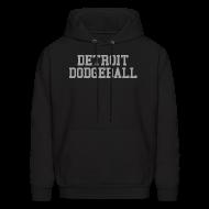 Hoodies ~ Men's Hoodie ~ Detroit Dodgeball